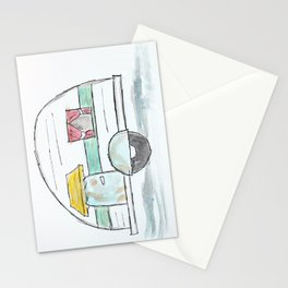 Happy Little Camper Stationery Cards