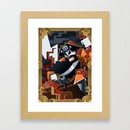 Blackbeard Framed Art Print