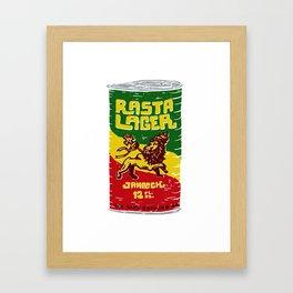 Rasta Lager Framed Art Print