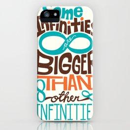 Some Infinities TFIOS Quote iPhone Case