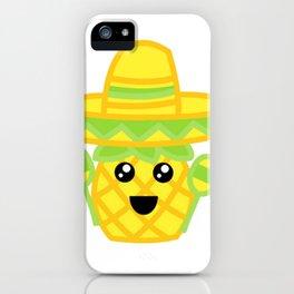 Fiesta Pineapple iPhone Case