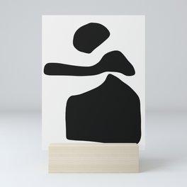 Posing Lady Mini Art Print