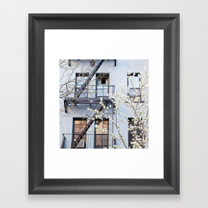 Brooklyn Spring Gerahmter Kunstdruck