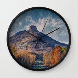 Pilot Mountain Wall Clock