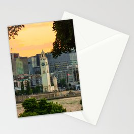Montreal old p Stationery Cards