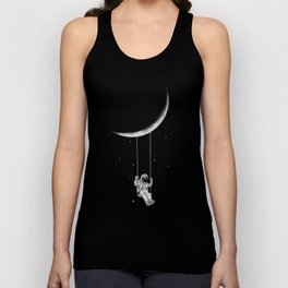 Moon Swing Unisex Tank Top