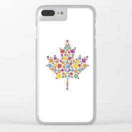 United Canada Clear iPhone Case