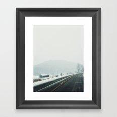 West Kill, NY Framed Art Print