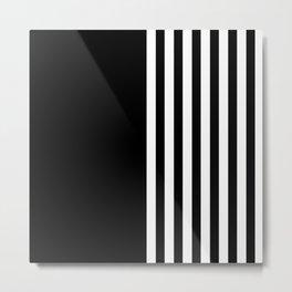 MIX & MATCH (BLACK-WHITE) Metal Print