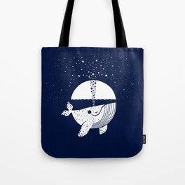 Starry Whale Tote Bag