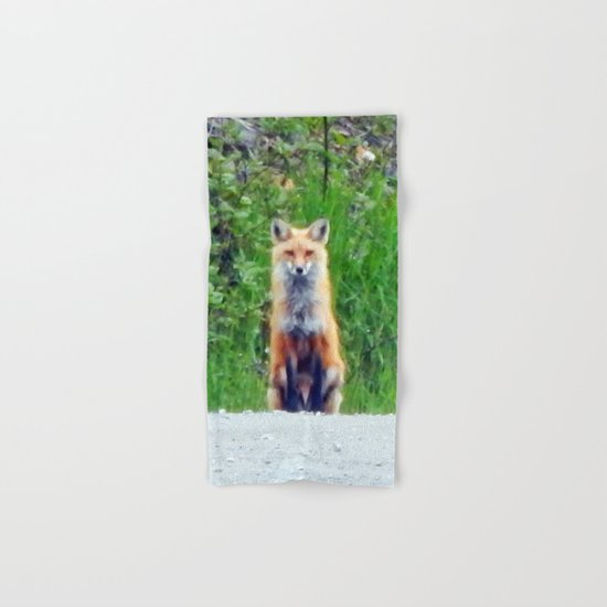 Red Fox Hand & Bath Towel