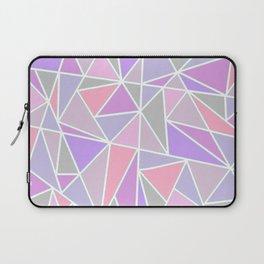 Pastel Shards Geometric Pattern Laptop Sleeve