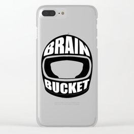 Brain bucket Clear iPhone Case