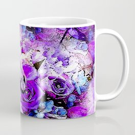 HORSE ROSES DRAGONFLY IMPRESSIONS Coffee Mug
