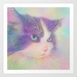 miwa cat 3 ~fred~ Art Print
