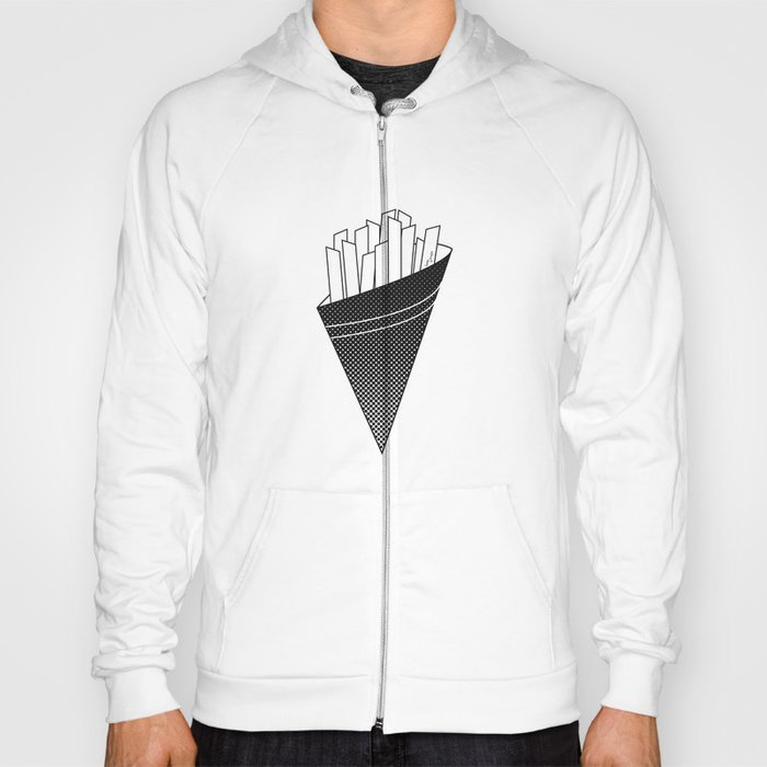 French Fries frites Hoody