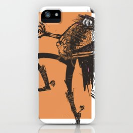 skeleton lord mexican style iPhone Case