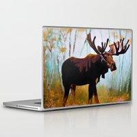 moose Laptop & iPad Skins featuring Moose by Vicki Lynn Rae