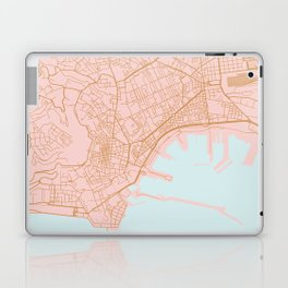 Napoli map Italy Laptop & iPad Skin