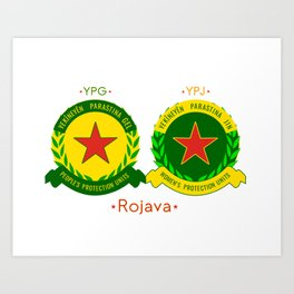 YPG/J Art Print