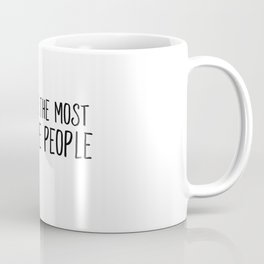 Dogs Are The Most Awesome People Coffee Mug