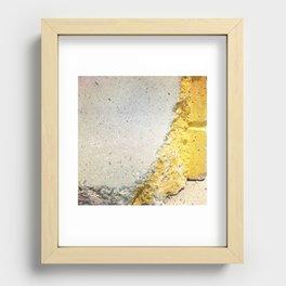Sunshine Recessed Framed Print