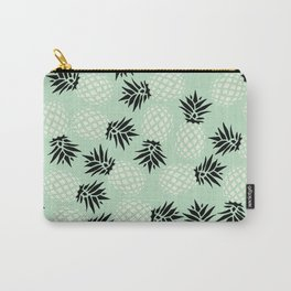 Mint Pineapple Pattern 023 Carry-All Pouch