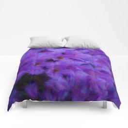 Purple lilac Comforters