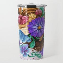 CANDY & FLOWERS Travel Mug