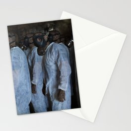 Mustard Gas Mechanics Stationery Cards
