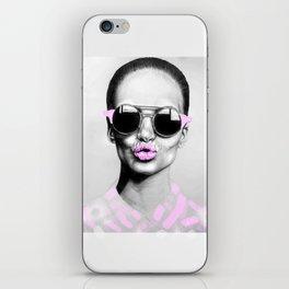 + SMOKE AND MIRRORS + iPhone Skin