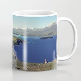 She felt tiny in Lake Tekapo Coffee Mug