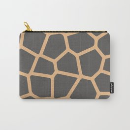 Giraffe Print Skin Pattern Carry-All Pouch