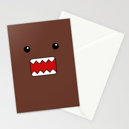 Domo Kun - Brown Japanese Monster Stationery Cards