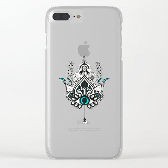 Magic Eye Clear iPhone Case