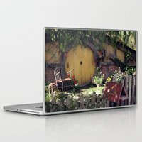 hobbit Laptop & iPad Skins featuring The Hobbit by Cynthia del Rio