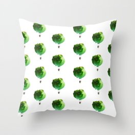 Iceberg Attack Throw Pillow