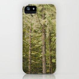 Oregon Trees iPhone Case
