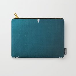 Minimalist Ice Bergs in the blue Ocean - Aerial Photography Carry-All Pouch