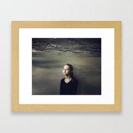 Who I am Framed Art Print