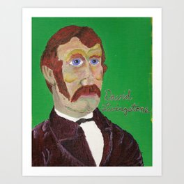 The Explorer Series: David Livingstone Art Print