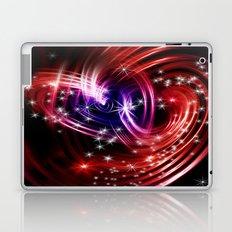 Two cosmic hearts Laptop & iPad Skin