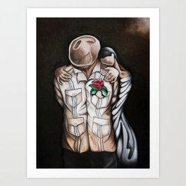 In Love or Not Art Print