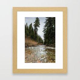 Hackleman Creek Framed Art Print