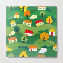 Home Land Metal Print