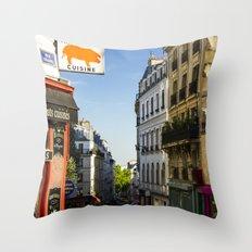 Montmartre series 7 Throw Pillow