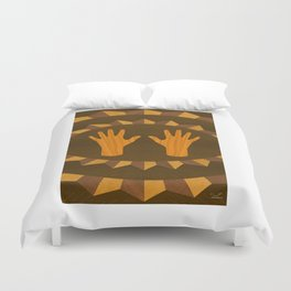 The ASL Marquetry - (ASL Marquetry Series) Duvet Cover