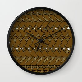Just come PAtternFun Wall Clock
