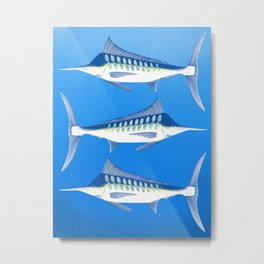 Marlin - Zircon Metal Print