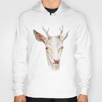 stag Hoodies featuring Stag by Brandon Keehner